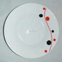 wholesale ceramic linyi porcelain plate print