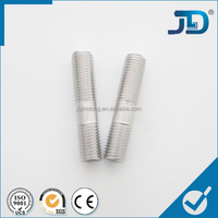 Low price ss double ended thread bolt