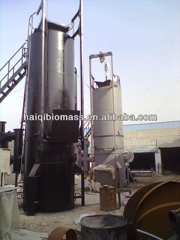 Alta eficiencia térmica de plástico gasificador planta de energía