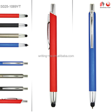 holder clip slim metal touch pen