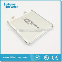 New product 800mah rechargeable lithium polymer battery pack 3.7v for lamp