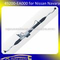 Nueva marca de piñón y cremallera para nissan navara 49200-ea000( cremallera de dirección)