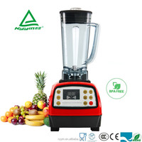 2.0litre 2000W BAR equipment Table high quality meat smoothie ice cream power blender Plastic Jug