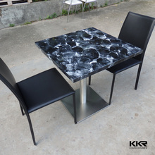 2015 fashionable high gloss white side bar table