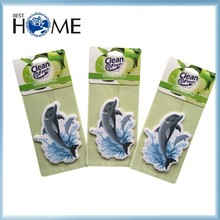 Novlety Logo Printe Paper Home Car Fresheners for Hotel Promotion
