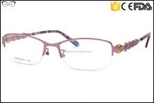 Manufacturer half frame hipster glasses frames, guangzhou optical frames factory, great glasses frames