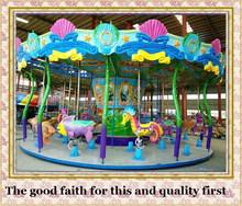 big ride amusement park ride angel ocean carousel house