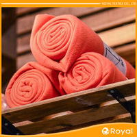Foldable Soft Colorful custom printed polar fleece fabric