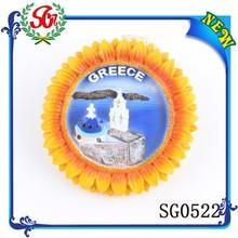 SG0522 Greece plastic magnet photo frame, custom photo frame ceramic fridge magnets