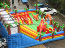 giant inflatable playgrounds for kids and adults