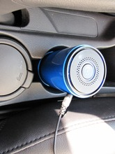 BMN909-5 Blue air purifiers portable car ionizer air purifier, Carbon Fiber Ionizer car air purifier