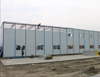 Prefab building, steel frame house, modular kit house
