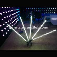 RGB Color Mixing led tube dmx512 control,32 pixels led tube 15W