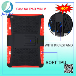Best Quality PC Silicon Gel Case for Tablet for iPad Mini