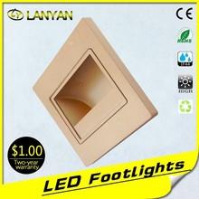 foot light led lamp factory price led foot lamp 12 volt led step light led stair light indoor