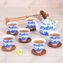 TG-405W230-W-4 korean tea set made in China annual dinner door gift