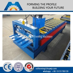 china supplier rolling equipment metal roof sheet corrugating machine