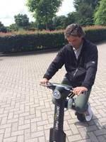2014 Revolutionary Foldable alloy frame 350w motor Electric scooter