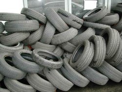 Used / Waste Rubber Tyres ; End-of-Life Car / Truck Tyres
