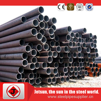 China high quality competitive price large diameter seamless thin wall steel pipe