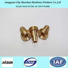 High Quality Durable Brass Hose Tail By CNC Lathe