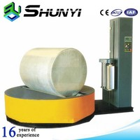Hot sale stretch film jumbo roll cylinder type wrapping machine