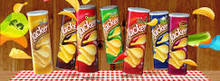 POTATO CRISPS VEGETABLE FLAVOUR (160G/PAPER BOX * 14)