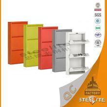 Goodlife economical steel living room furniture luxury metal shoe cabinet