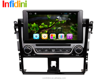 Pure Android 4.2 car dvd gps for toyota Vios 2014 2015+TPMS+Mirrorlink+Glonass+BT+RADIO+RDS