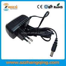 EU UK US AC DC Switching power adapter 18V 1A 18W, 1000mA 18volt power adapter 18W