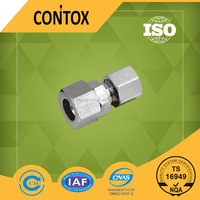 B303 copper connection Compression swivel metal pipe fitting