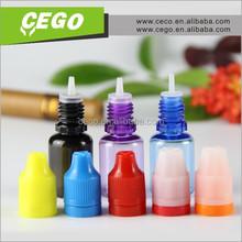 2015 manufacturer!15ml PETe-liquid clean bottle,plastic bottle childproof cap and short dripper