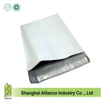 Blank outer white inner silver ldpe express bag ALD1181