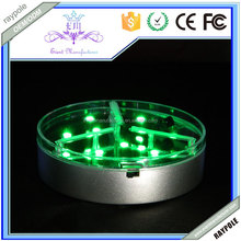 2015 Newest!!!Multi-color Wireless Remote controlled led centerpiece light for party Decoration