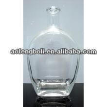 cristal 1000ml de vodka de vidrio botella de vidrio