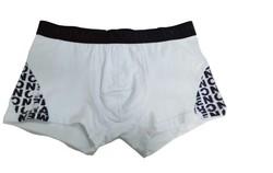 High qulity plain white cotton mens underwear boxer briefs