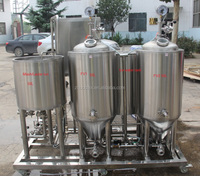 50L micro brewery used brewing beer raw material