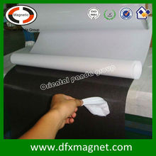 Flexible rubber magnets adhesive magnetic sheet