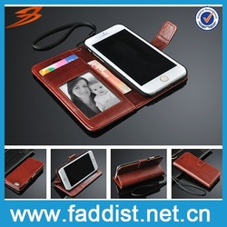 Alibaba pu leather case for iphone 6 wallet case for iphone 6