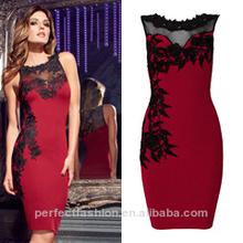 2014 venta caliente personalizado bangdage vestido
