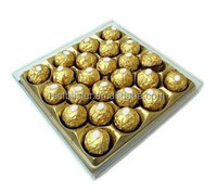 Plastic chocolate blister tray