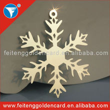 China wholesale stainless steel Chrismas ornament with competitive price