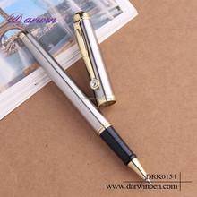 Silver diamond metal ball pen metal roller pen