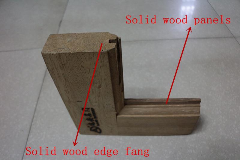 Finger joint pine raised panel wooden decorative door for Finger joint wood doors