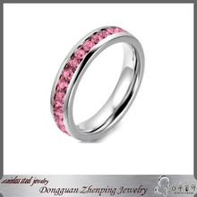 Wholesale Stainless Steel Women Wedding Rings for Fashion Beautiful Jewelry