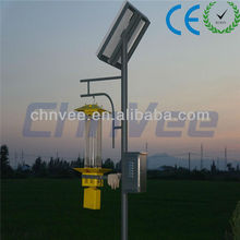 HOTSALE 15WSolar Insect ultraviolet Killer Light light + time + rain control, short circuit and waterproof protection