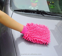 car washing gloves for cleaning Chenille car wash glove