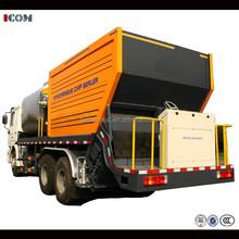 6 CBM asphalt tank 10CBM Gravel bucket ZQZ5250GWTB Synchronous Chip Sealer