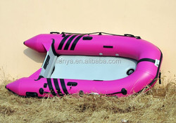 Liya 3.8m-6.5m aluminum floor inflatable rescue boat folding boat for sale