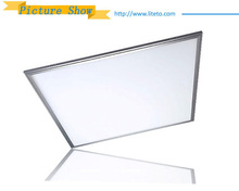 AC86-265v 130lm/w 0.9 power factor 48w 600*1200mm surface square led panel light with ce rohs